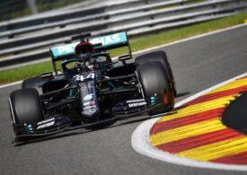 Lewis Hamilton, învingător în Marele Premiu al Belgiei, la Spa