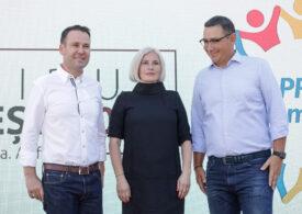 Ponta anunță că partidul său votează moțiunea de cenzură alături de PSD