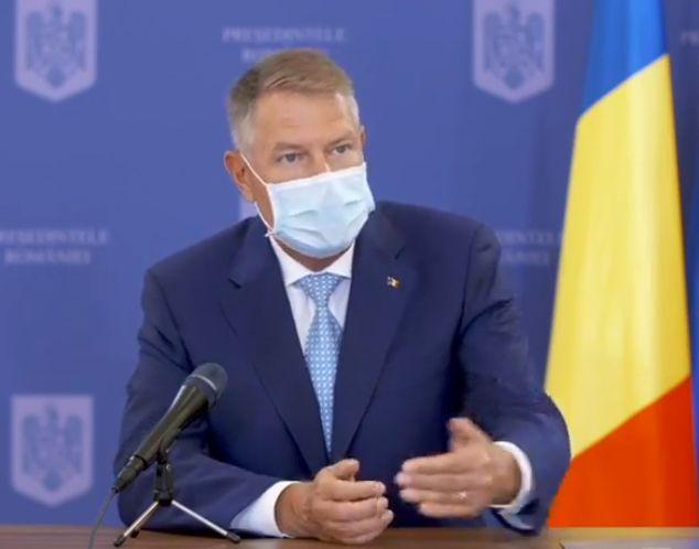 Iohannis, despre moţiunea de cenzură: Mi se pare neavenită. Asta arată că PSD nu e doar cinic, este şi iresponsabil