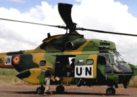 Un elicopter românesc din forța de menținere a păcii din Mali s-a răsturnat în timpul unei misiuni