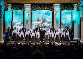 """Corul Madrigal prezintă concertul """"Bijuterii corale"""", în amfiteatrul în aer liber din Parcul Național"""