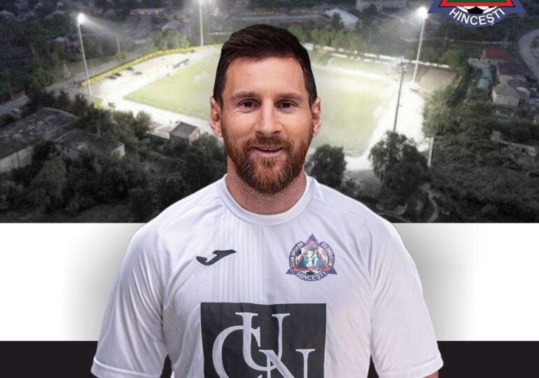 O echipă din Republica Moldova anunță că îl dorește pe...Leo Messi