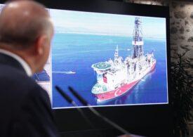 Erdogan spune că Turcia a descoperit resurse istorice de gaze în Marea Neagră, la intersecţia dintre frontierele maritime ale Bulgariei şi României