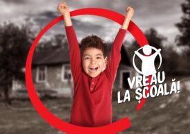 """Salvați Copiii România lansează campania """"Vreau la școală!"""" în ajutorul elevilor care nu au computer, tabletă sau internet"""