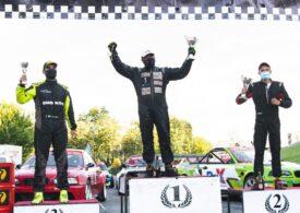 """""""Profesorul"""" Frățianu, câștigător în etapa a doua din Campionatul Național de Drift"""