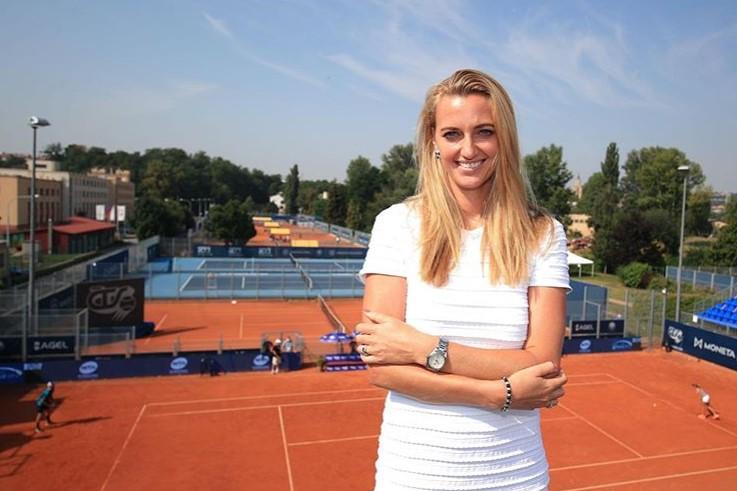 Petra Kvitova avansează cu emoții la Madrid