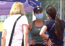 Ana Bogdan abandonează cu ochii în lacrimi la Praga. Irina Begu se califică în sferturi după un meci nebun