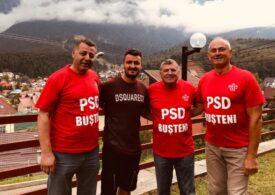 Un cunoscut fotbalist român, prezent la un eveniment de lansare al PSD