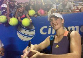 O jucătoare de pe locul 121 WTA a produs prima mare surpriză de la reluarea turneelor oficiale