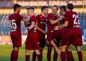 CFR Cluj învinge Astra și urcă pe primul loc