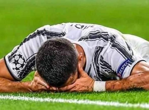 Cristiano Ronaldo a izbucnit în lacrimi pe teren