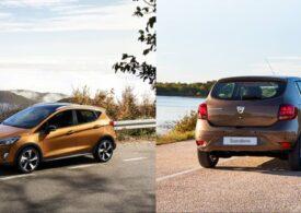 Dacia Sandero sau Ford Fiesta, care e mai bună? Răspunsul spaniolilor