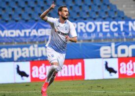 Liga 1: Universitatea Craiova câștigă pe final