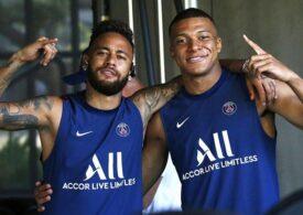 Neymar explică de ce și-a lovit un adversar pe teren