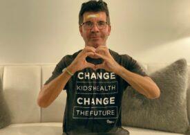 Simon Cowell, spitalizat de urgenţă după ce a căzut de pe o bicicletă electrică