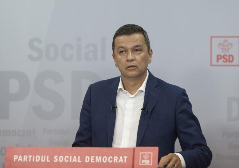 Grindeanu îi amenință pe parlamentarii PSD: Cine nu se prezintă sau votează invers la moţiune nu mai face parte din partid