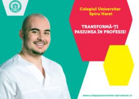 Asistent medical, cea mai solicitată specializare a Colegiului Universitar Spiru Haret