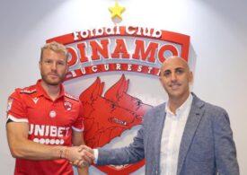 Dinamo a transferat un atacant slovac - oficial