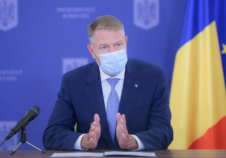 Iohannis, despre alegeri în plină pandemie: Trebuie să fim realiști, un scenariu cu risc zero nu există!
