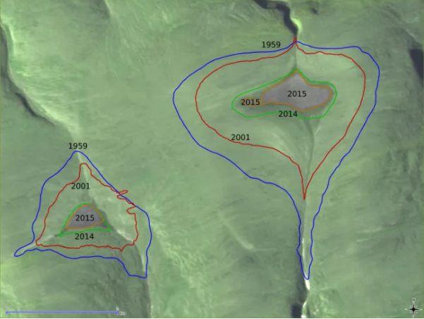 NASA anunță că două calote glaciare imense au dispărut fără urmă din zona artică