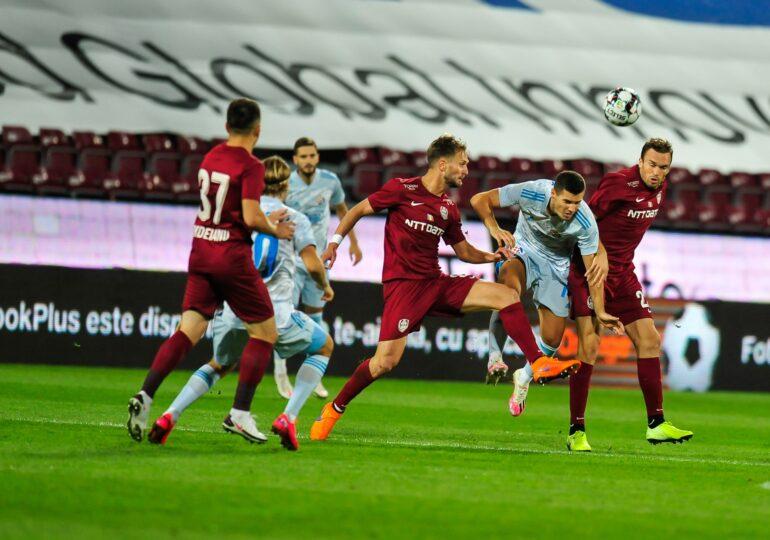 CFR Cluj remizează cu Young Boys Berna în grupele Europa League