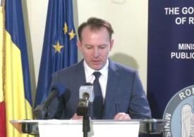 Florin Cîțu spune că deficitul bugetar urcă la 9,1% din PIB la rectificare și anunță ce ministere primesc mai mulți bani