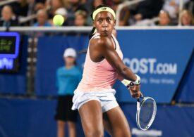 Coco Gauff, în vârstă de doar 16 ani, a produs o nouă mare surpriză în circuitul WTA