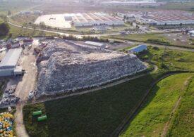 Primăria unei comune de lângă Baia Mare cere în instanță mutarea depozitului de deșeuri