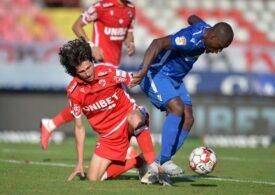 Liga 1: Dinamo face un pas important în cursa pentru salvarea de la retrogradare