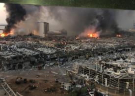 Ambasada României la Beirut a fost avariată de explozie. Iohannis transmite condoleanțe Libanului