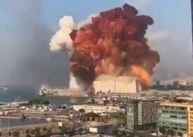 """(Video) O explozie uriașă a zguduit Beirutul. Unda de șoc a făcut ravagii, lăsând în urmă aproape 3.000 de victime. """"Seamănă cu ce am văzut la Hiroshima și Nagasaki"""""""