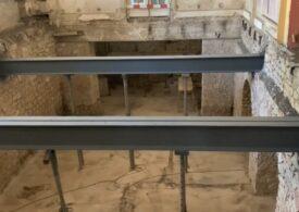 Grinzile construite de Anghel Saligny la Cazinoul din Constanța arată ca noi după mai bine de 100 de ani. Ce planuri sunt după restaurare (Video)