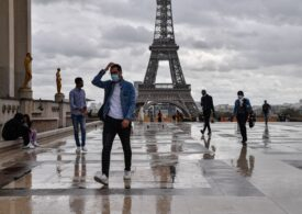 Franța: Număr record de cazuri noi de COVID-19