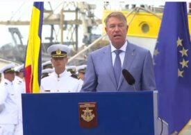 Klaus Iohannis, de Ziua Marinei: Criza Covid este un test dur. E esențial să ne consolidăm capacitatea de anticipare și de reacție instituțională  (Video)