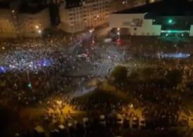 Proteste în Belarus, după anunțarea victoriei lui Lukaşenko: S-a tras cu tunuri cu apă, gaze lacrimogene şi grenade