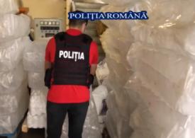 Percheziţii în Bucureşti şi Ilfov, la fasificatori de spirt și dezinfectanți care pun în pericol sănătatea