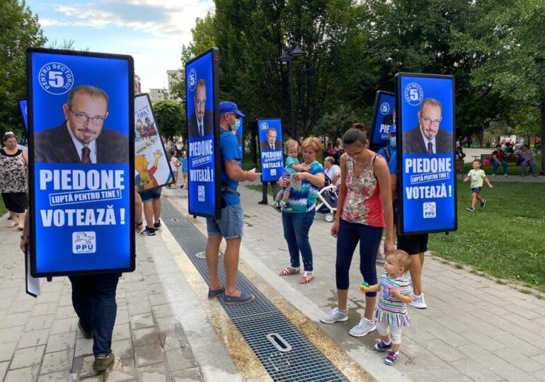 """Condamnat în dosarul Colectiv, Piedone și-a ales ca mesaj de campanie îndemnul """"Aveţi grijă cu cine votaţi, să nu vă frigeţi!"""" (Video)"""