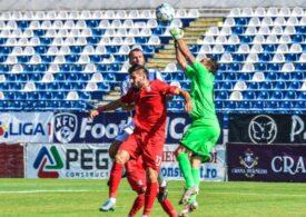 Liga 1: Remiză între Chindia și Poli Iași
