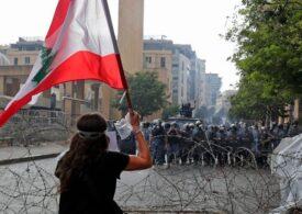 Proteste violente în Beirut, forţele de ordine folosesc gaze lacrimogene împotriva manifestanţilor