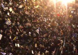 Israel: Protestatarii cer demisia lui Netanyahu, acuzându-l de corupţie şi gestionarea necorespunzătoare a crizei coronavirusului