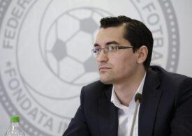Răzvan Burleanu, în cărți pentru un post la UEFA