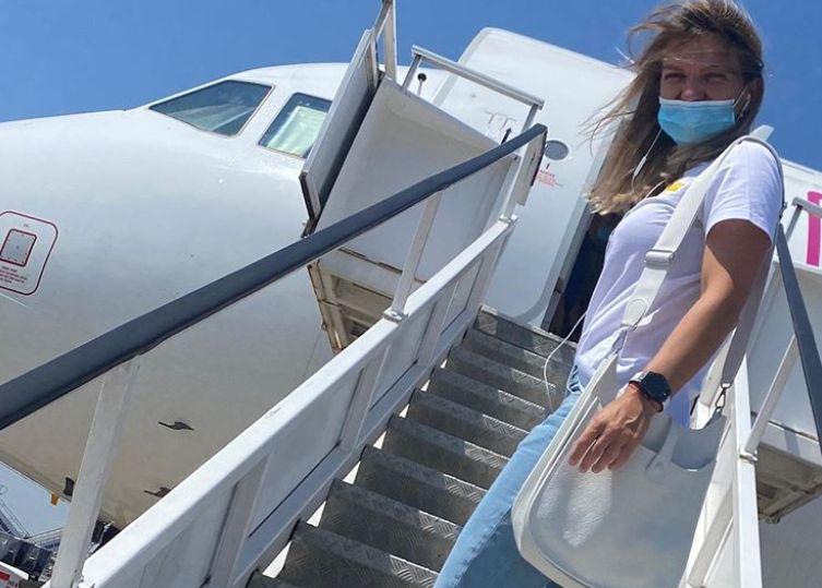 Simona Halep a plecat spre Praga
