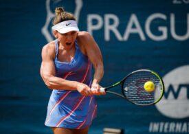 Simona Halep s-a calificat în finala turneului de la Praga, după ce-a învins-o în semifinale pe Irina Begu