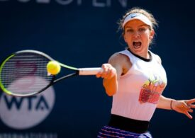Simona Halep se califică greu în sferturile de finală ale turneului de la Praga
