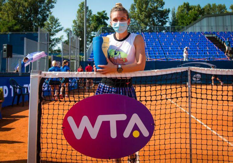 Performanță uriașă pentru Simona Halep după câștigarea turneului de la Praga