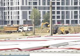 Firea vrea să ridice a doua cea mai mare construcție după Casa Poporului cu o mână de muncitori și câteva utilaje. Proiectul e ținut la secret, deși e plătit din bani publici