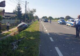 Secretar de stat în Ministerul Economiei, implicat într-un accident în județul Argeș (Video)