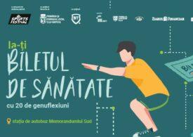 La Cluj a fost inaugurată prima staţie de sport smart din ţară: La 20 de genuflexiuni, primești bilet de autobuz