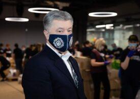 Petro Poroșenko, infectat cu Covid, a fost internat cu dublă pneumonie