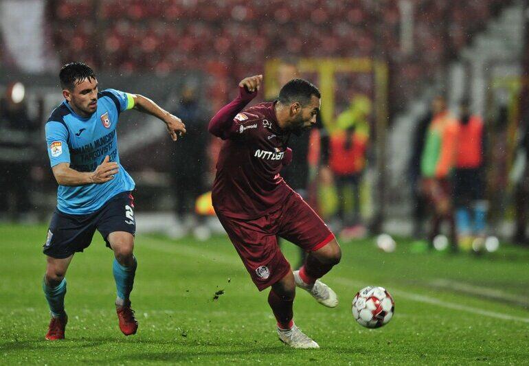Liga 1: CFR Cluj, pas greșit pe teren propriu cu Chindia